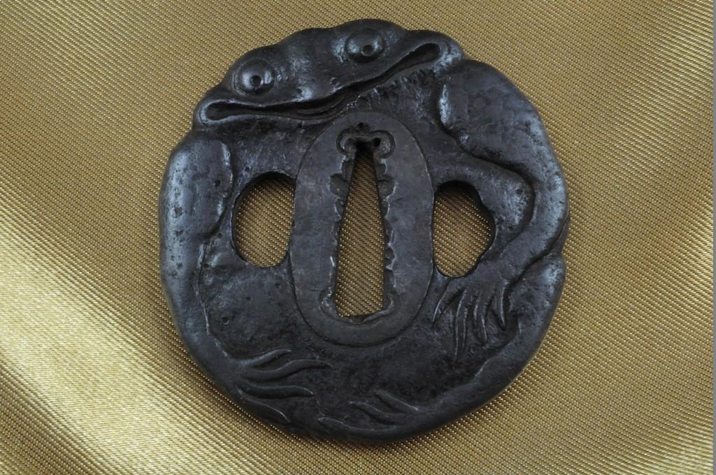 Frog tsuba (4)