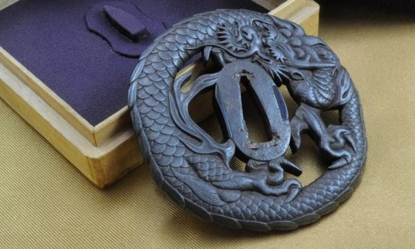 Tsuba Dragon Echizen