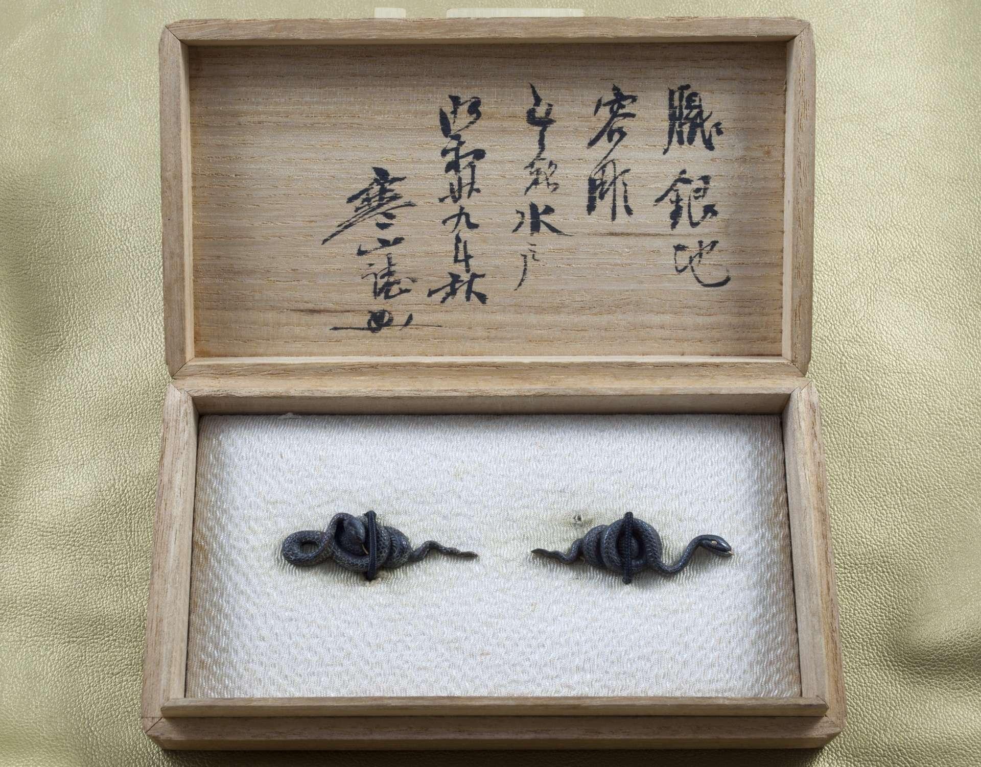 Menuki Snake 3