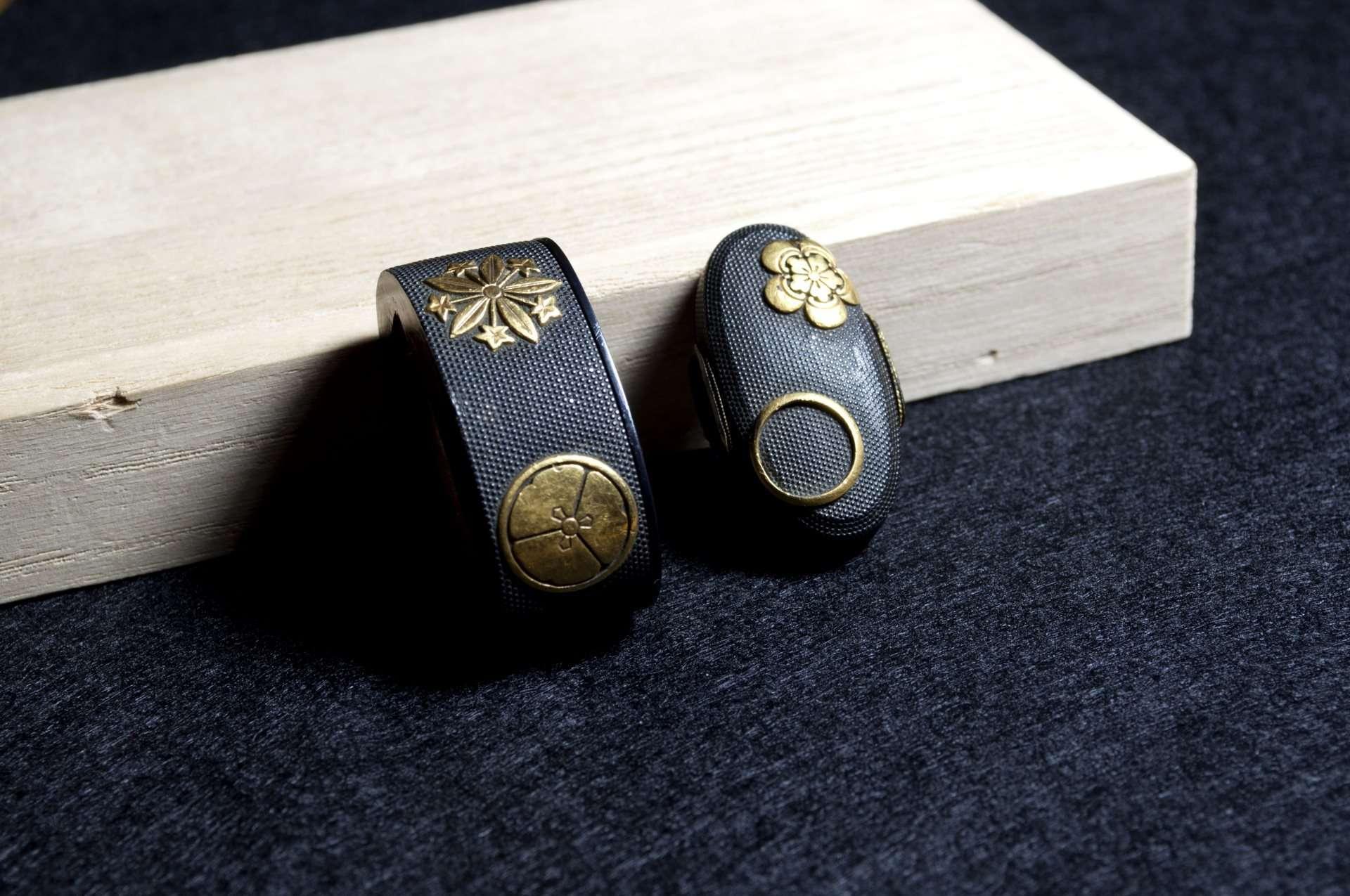 Fuchi Kashira Nanako Mon gold (7)