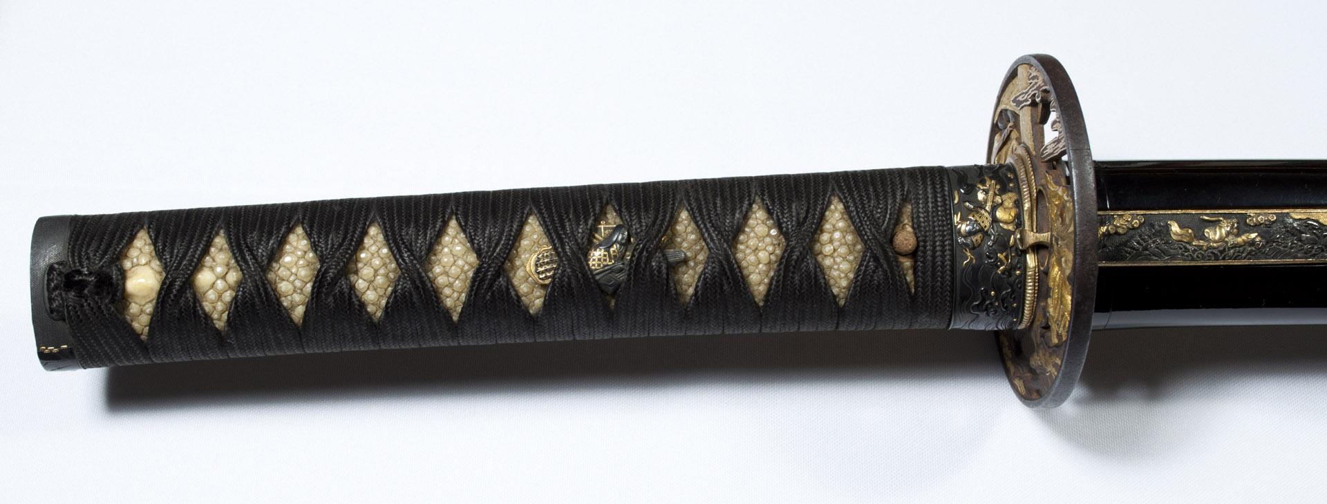 Tsunahiro katana sabre japonais koshirae (1)