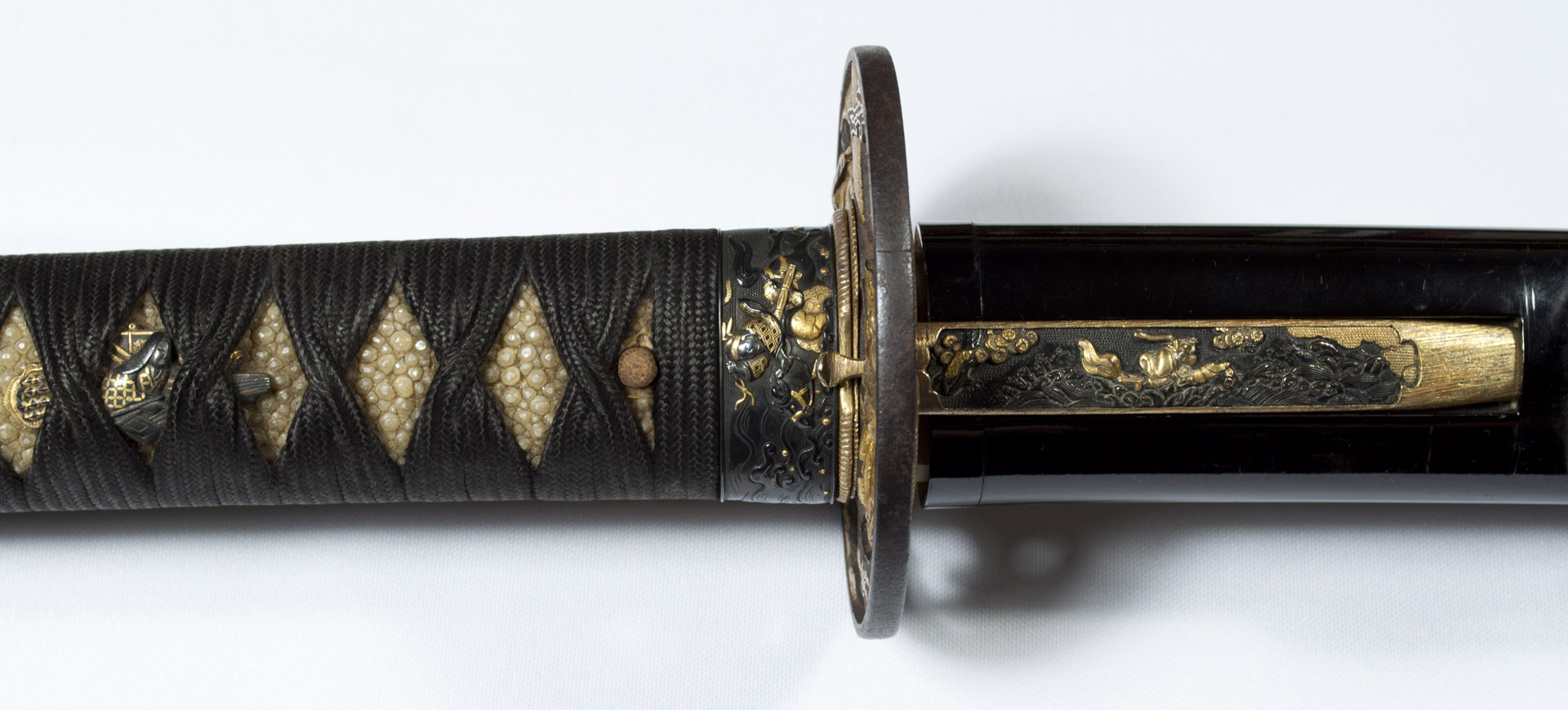 Tsunahiro katana sabre japonais koshirae (2)