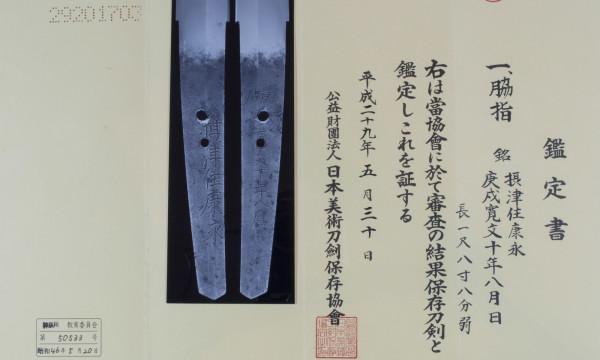 Wakizashi Yasunaga