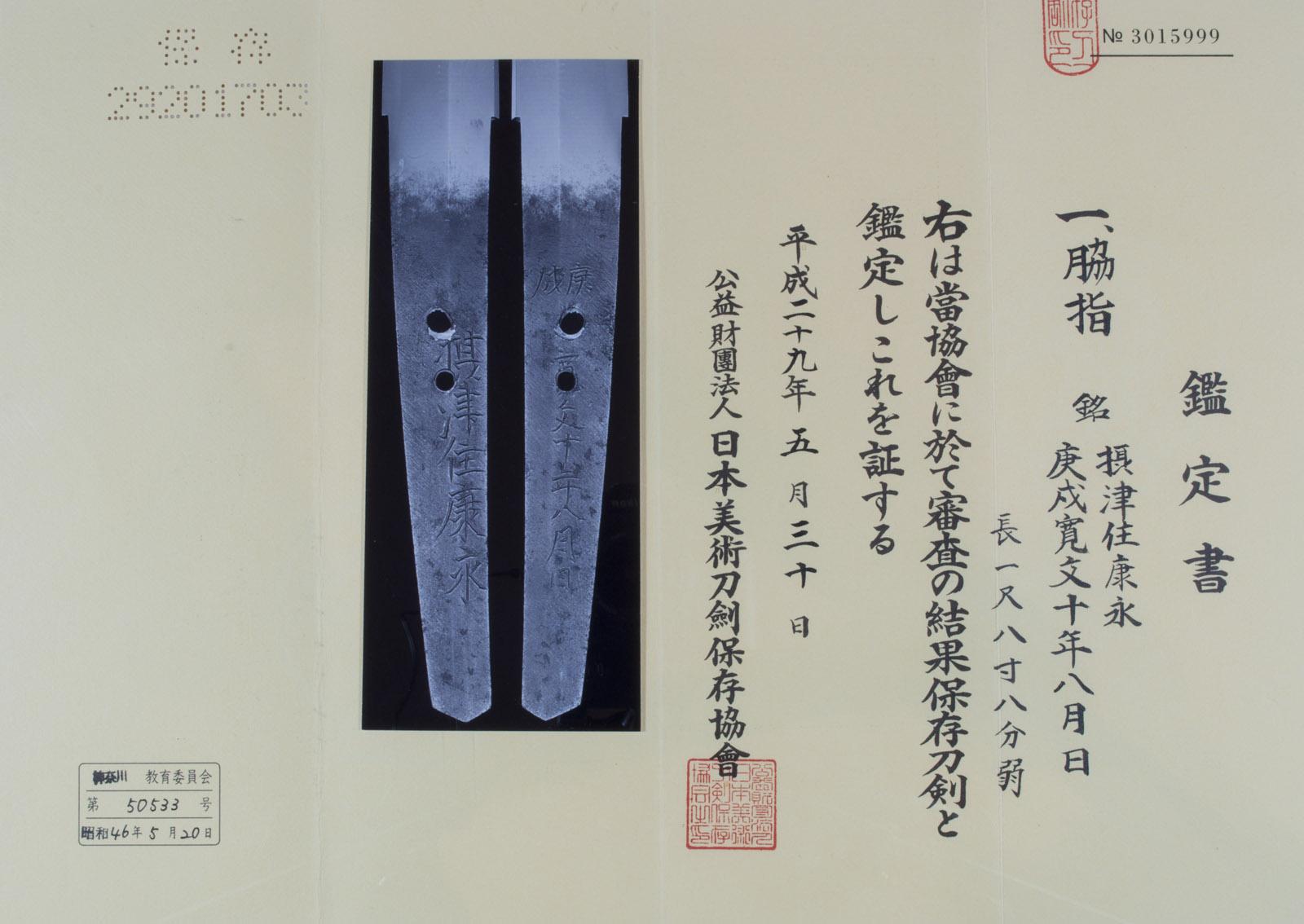 Wakizashi Yasunaga NBTHK Hozon