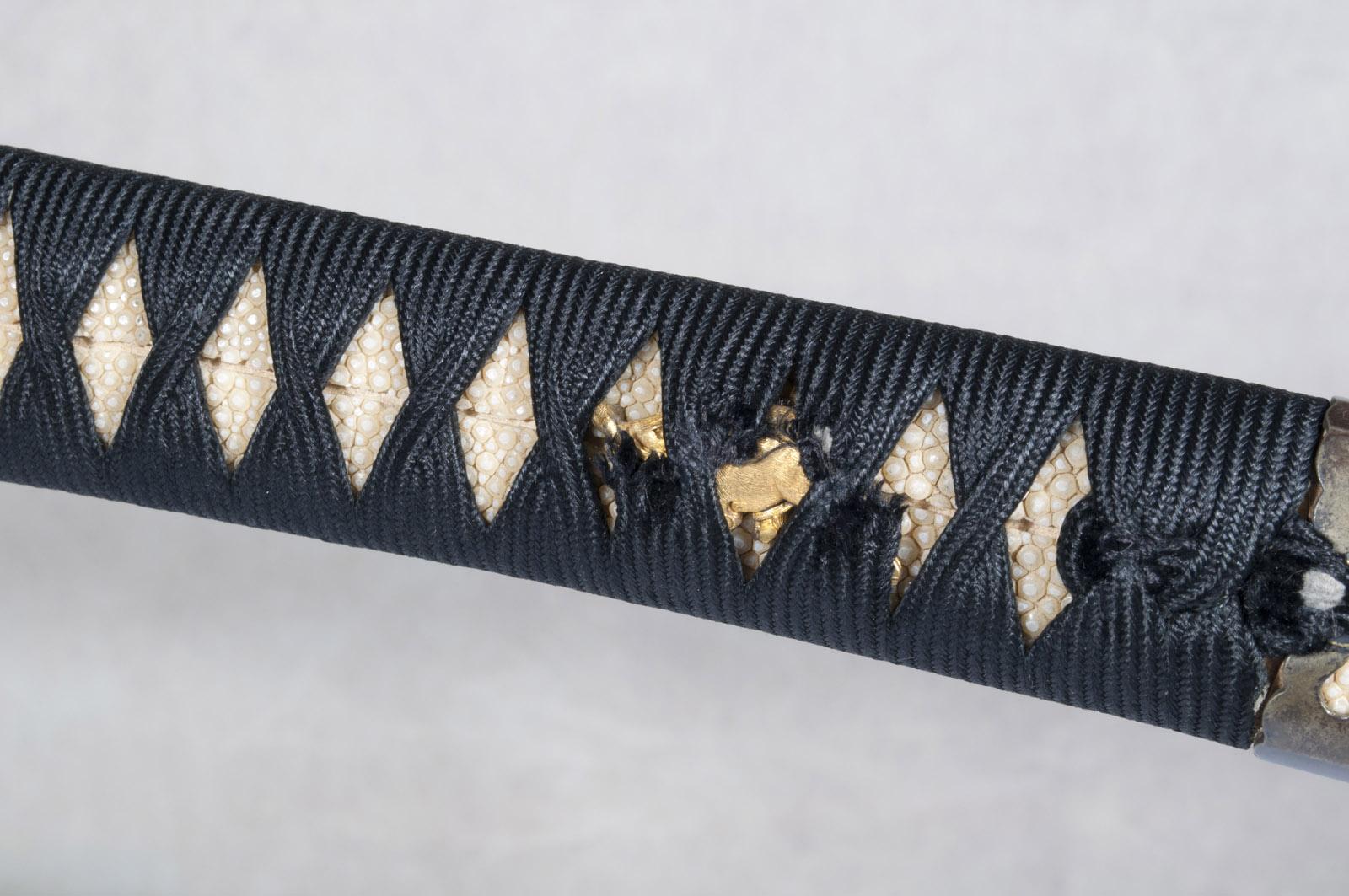 Wakizashi Yasunaga sabre japonais (17)