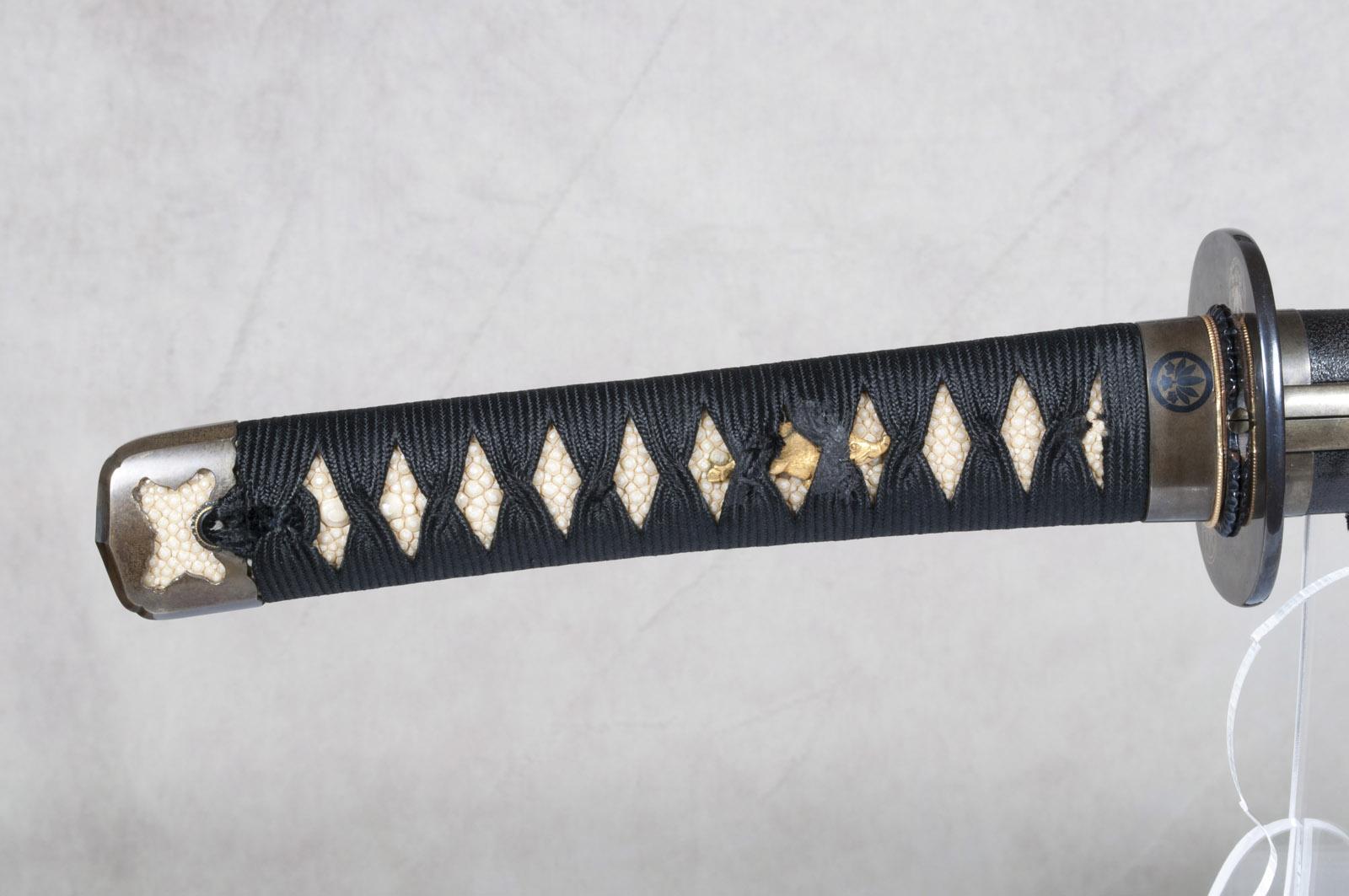 Wakizashi Yasunaga sabre japonais (19)