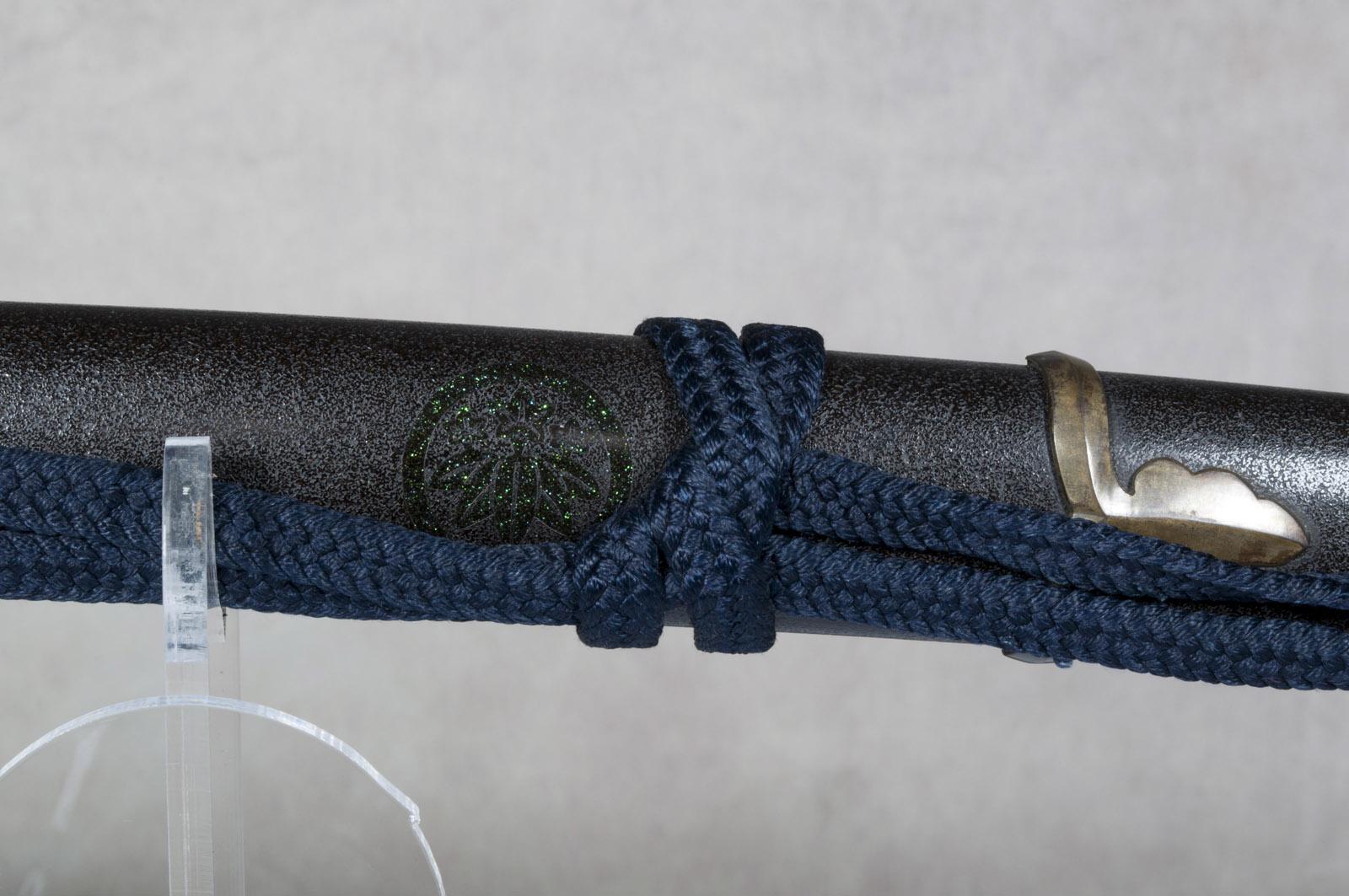 Wakizashi Yasunaga sabre japonais (22)