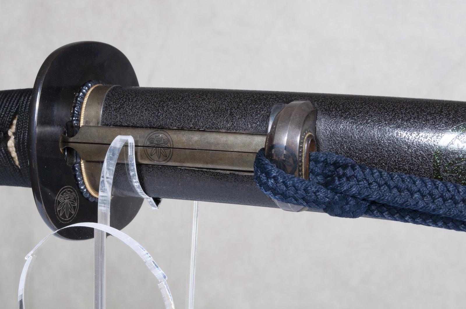 Wakizashi Yasunaga sabre japonais (23)