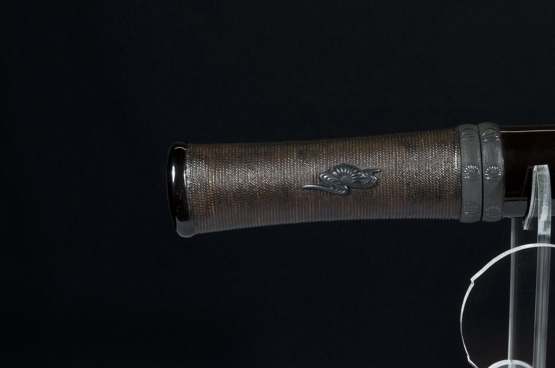 Sengo Masazane sunobi Tanto sabre japonais (10)