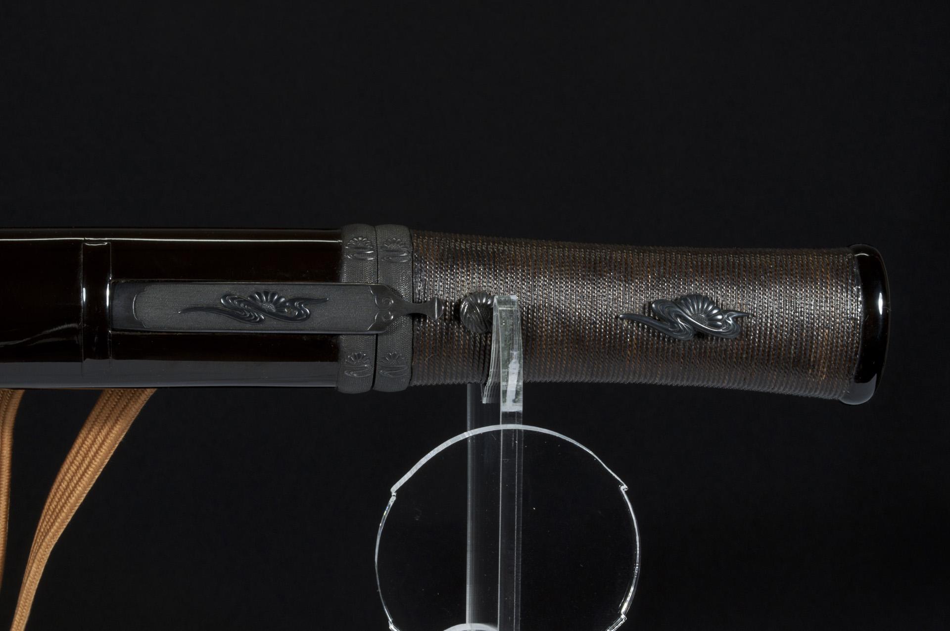 Sengo Masazane sunobi Tanto sabre japonais (13)