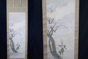 Kakejiku Samurai and Sakura