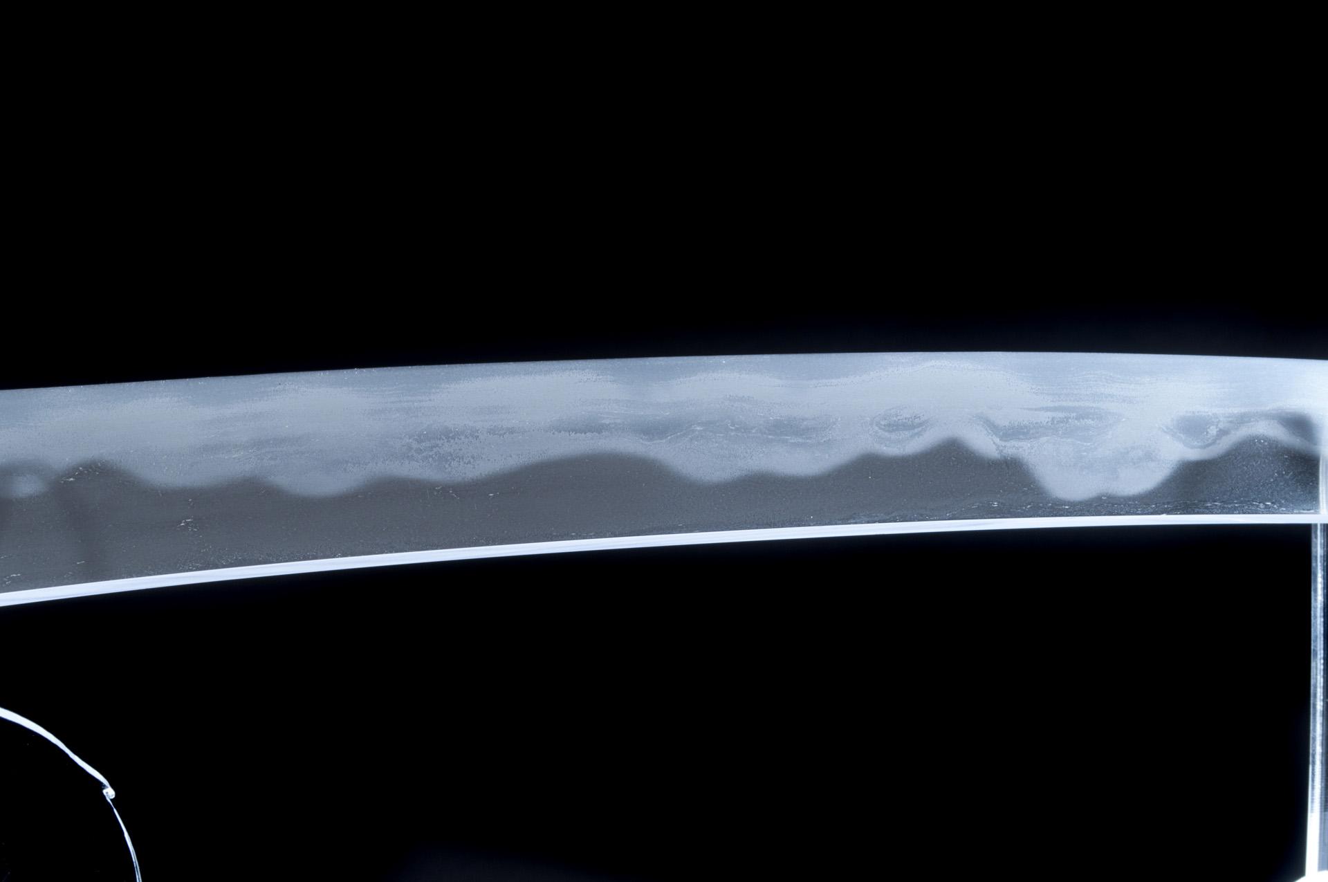 Oyogo Kunishige Wakizashi sabre japonais (5)