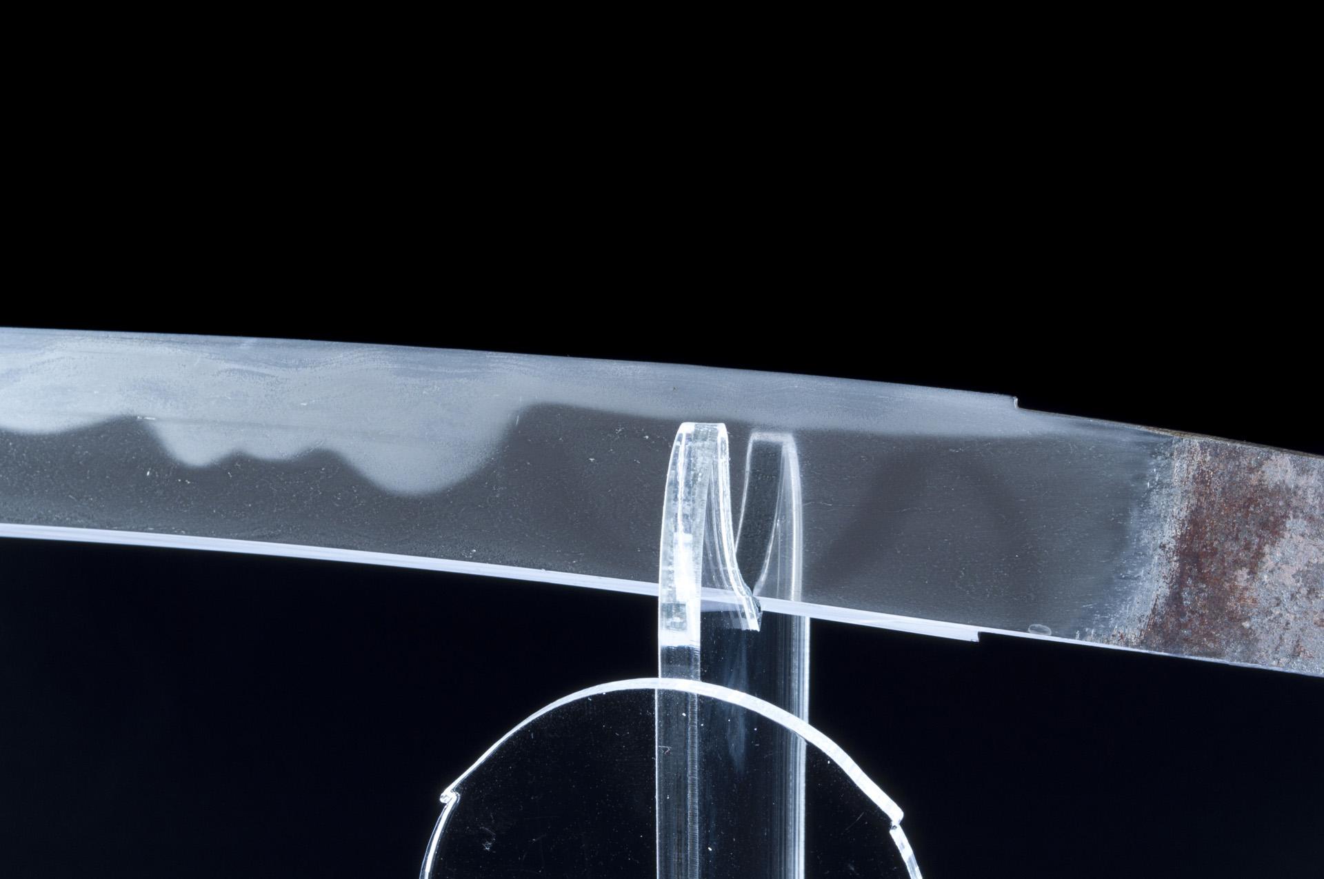 Oyogo Kunishige Wakizashi sabre japonais (7)
