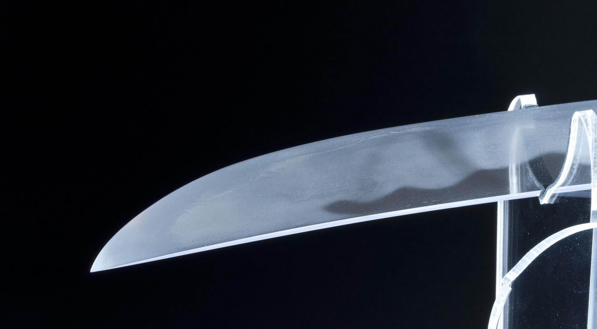 Oyogo Kunishige Wakizashi sabre japonais (9)